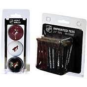 Team Golf Arizona Coyotes 3 Ball/50 Tee Combo Gift Pack