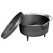 Stansport Cast Iron 4 Quart Dutch Oven