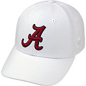 Top of the World Men's Alabama Crimson Tide White Premium Collection M-Fit Hat