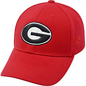 Top of the World Men's Georgia Bulldogs Red Premium Collection M-Fit Hat