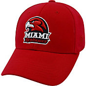 Top of the World Men's Miami RedHawks Red Premium Collection M-Fit Hat