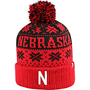 Top of the World Men's Nebraska Cornhuskers Scarlet/Black Sub Arctic Knit Beanie