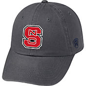 Top of the World Men's NC State Wolfpack Black Crew Adjustable Hat