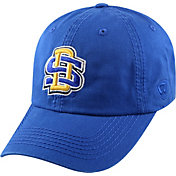 Top of the World Men's South Dakota State Jackrabbits Blue Crew Adjustable Hat