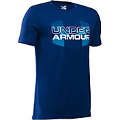 Under Armour Boys' Big Logo Hybrid T-Shirt