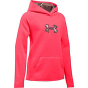 Under Armour Girls' Icon Caliber Hoodie