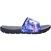 Under Armour Kids' Strike Floral Slides