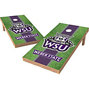 Wild Sports 2' x 4' Weber State Wildcats XL Tailgate Bean Bag Toss Shields