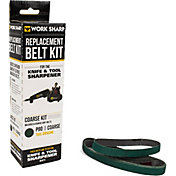 "Work Sharp Knife and Tool Sharpener Replacement Belt Kit – P80 Extra Coarse Grit Bulk Pack ½"" x 12"""