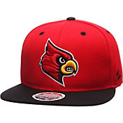 Zephyr Men's Louisville Cardinals Cardinal Red/Black Z11 Snapback Hat