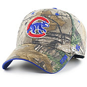 '47 Men's Chicago Cubs Camo Frost MVP Adjustable Hat