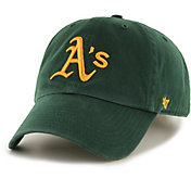 '47 Men's Oakland Athletics Clean Up Green Adjustable Hat