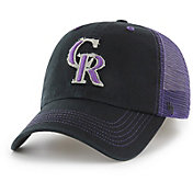 '47 Men's Colorado Rockies Taylor Closer Black Fitted Hat