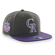 '47 Men's Colorado Rockies Sure Shot Captain Adjustable Snapback Hat