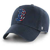 '47 Men's Boston Red Sox Spring Banner Clean Up Navy Adjustable Hat
