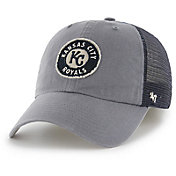 '47 Men's Kansas City Royals Oracle Closer Navy Fitted Hat