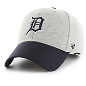 '47 Men's Detroit Tigers Retent MVP Grey Adjustable Hat