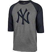 '47 Men's New York Yankees Club Three-Quarter Sleeve Shirt