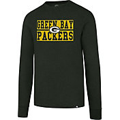 '47 Men's Green Bay Packers Club Green Long Sleeve Shirt