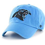 '47 Men's Carolina Panthers Blue Clean Up Adjustable Hat