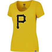 '47 Women's Pittsburgh Pirates Gold T-Shirt