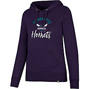 '47 Women's Charlotte Hornets Purple Pullover Hoodie