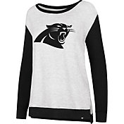 '47 Women's Carolina Panthers Kayla Crew Neck Sweater