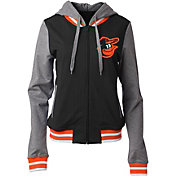 New Era Women's Baltimore Orioles Full-Zip Hoodie