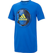 adidas Boys' Optic Sport Ball T-Shirt