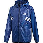 adidas Originals Boys' 3-Stripe Windbreaker Jacket