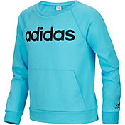 adidas Girls' French Terry Sweatshirt