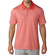 adidas Men's Club Cotton-Hand Mini Stripe Golf Polo