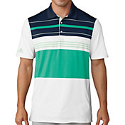adidas Men's Ultimate365 Engineered Blocked Golf Polo