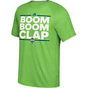 adidas Men's Seattle Sounders Local Saying Dassler Green T-Shirt