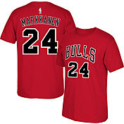 adidas Men's Chicago Bulls Lauri Markkanen #24 Red T-Shirt