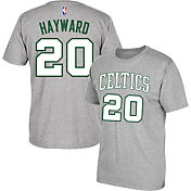 adidas Men's Boston Celtics Gordon Hayward #20 Grey T-Shirt