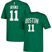 adidas Men's Boston Celtics Kyrie Irving #11 Kelly Green T-Shirt