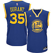 adidas Men's Golden State Warriors Kevin Durant #35 Road Royal Replica Jersey