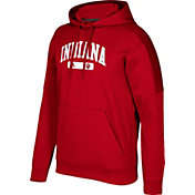 adidas Men's Indiana Hoosiers Crimson Arched Heat Pullover Hoodie