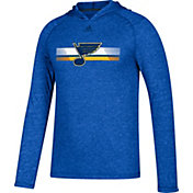 adidas Men's St. Louis Blues Journeyman Ultimate Royal Performance Pullover Hoodie