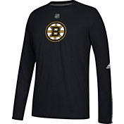 adidas Men's Boston Bruins Primary Position Ultimate Black Long Sleeve Shirt