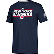 adidas Men's 2018 Winter Classic New York Rangers Dassler Navy T-Shirt