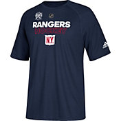 adidas Men's 2018 Winter Classic New York Rangers Authentic Ice Navy T-Shirt