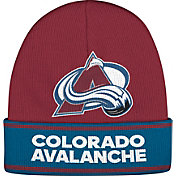adidas Men's Colorado Avalance Logo Maroon Knit Beanie