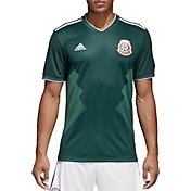 adidas Men's Mexico Replica Home Green Stadium Jersey