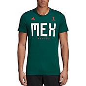 adidas Men's 2018 FIFA World Cup Mexico Crest Green T-Shirt