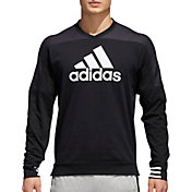 adidas Men's Sport ID Cotton Crew Sweatshirt