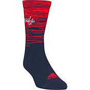 adidas Washington Capitals Heathered Crew Socks