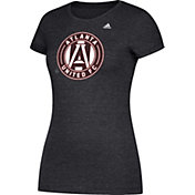 adidas Women's Atlanta United Liquid Hex Heather Black T-Shirt