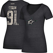 CCM Women's Dallas Stars Tyler Seguin #91 Black T-Shirt